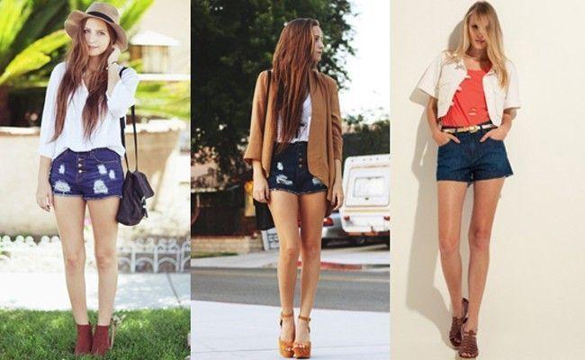 como usar shorts cintura alta Como usar shorts de cintura alta