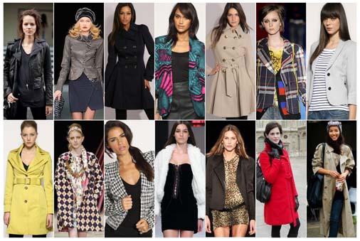 fotos casacos inverno 2010 Tendências de casacos para o inverno 2010