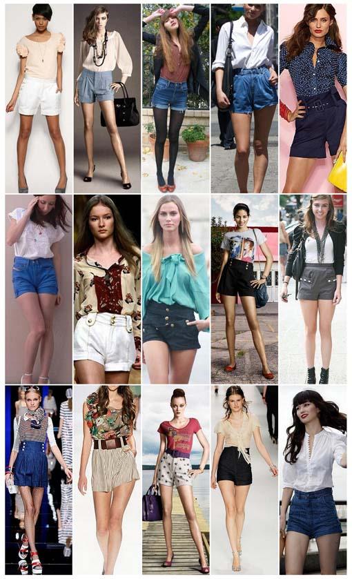 fotos shorts cintura alta Como usar shorts de cintura alta