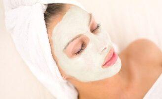 Máscara facial para pele oleosa
