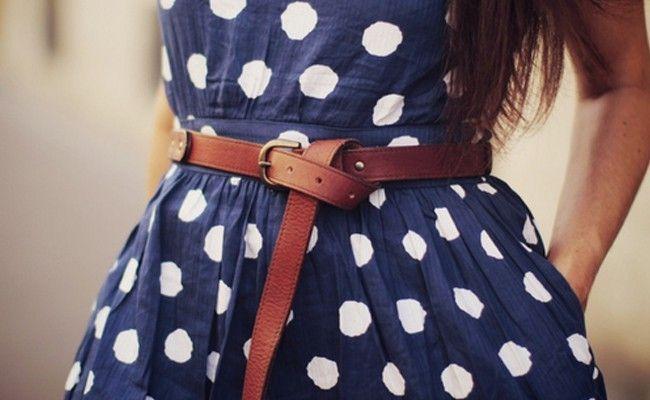como usar vestido com cinto Como usar vestido com cinto