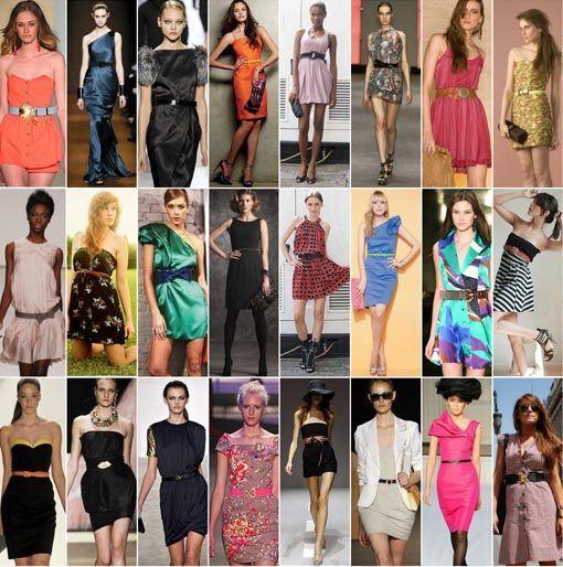fotos vestido com cinto Como usar vestido com cinto