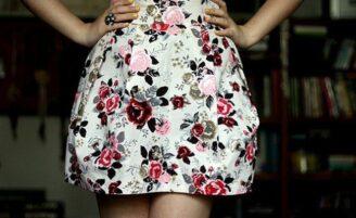 Como usar saia tulipa