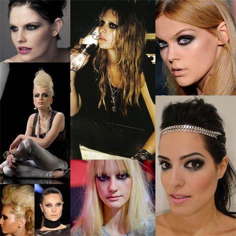 fotos imagem rock Maquiagem estilo rock
