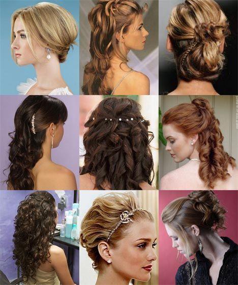 fotos penteados formatura Penteados para formatura