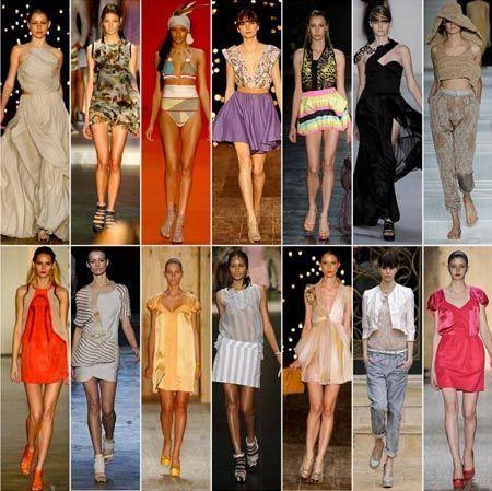 moda verao 2011 Tendências de moda para o verão 2011