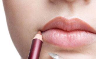 Maquiagem para aumentar os lábios