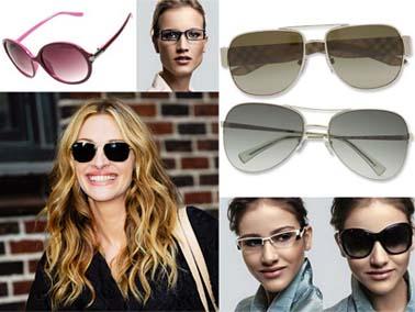 rosto triangular oculos Para cada formato de rosto, um tipo de óculos