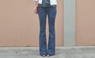 Jeans flare: a calça que modela o corpo e te deixa elegante