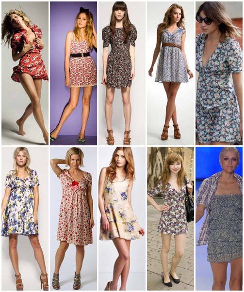modelos tea dress 2 Tea dress para o verão