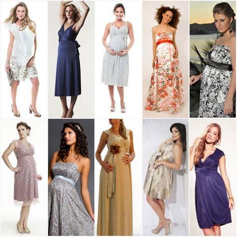 modelos vestidos gestantes 2 Vestidos de festa para gestantes