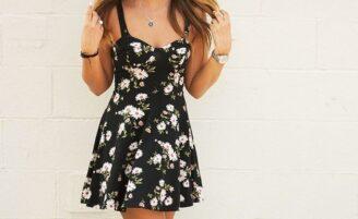 Tea dress para o verão