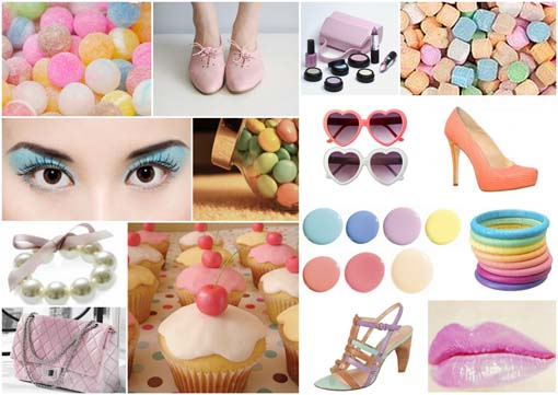 acessorios candy colors Moda candy colors