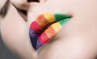 Batom colorido
