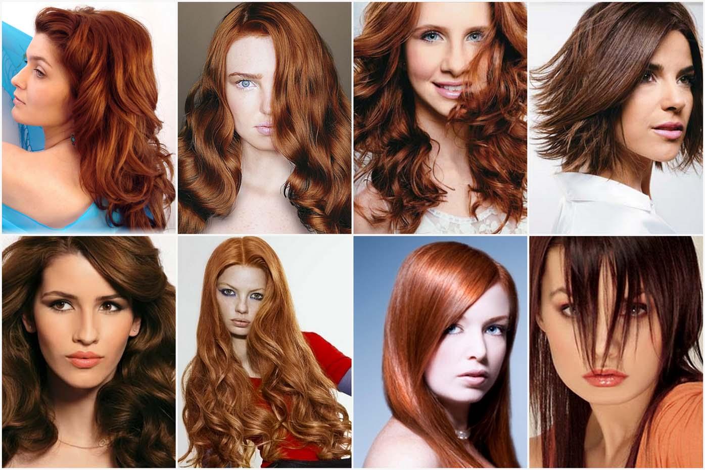 cabelos acobreados 2011 Tendências em cores de cabelo 2011