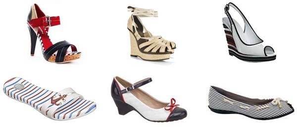 calcados moda navy Moda navy