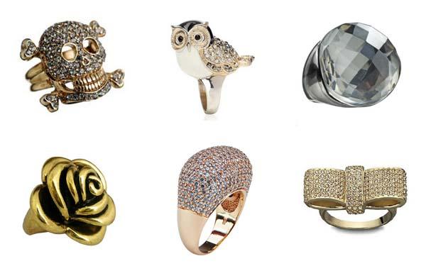 fotos modelos aneis Mix de anéis