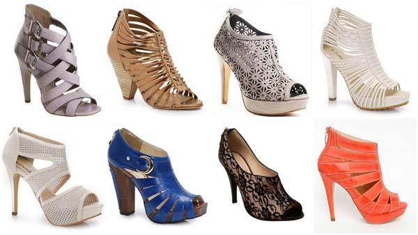 open boots 2011 Tendência de sapatos e sandálias 2011