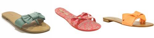 rasteirinha tipo chinelao Tendência de sapatos e sandálias 2011
