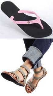 sandalias ecologicas Ecomoda, moda ecológica