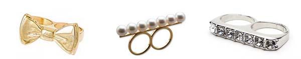 tipos aneis Mix de anéis