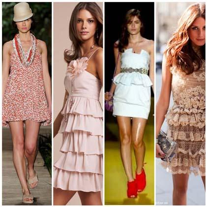 vestidos verao 2011 4 Vestidos para o verão 2011