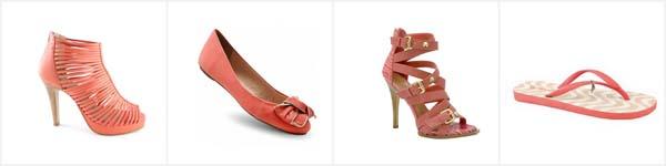 coal sapatos verao Coral – A cor para o verão 2011