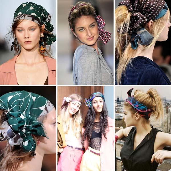 lenco carre cabelo Aprenda a fazer carré, o nó da moda