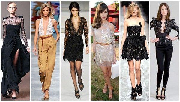 modelos renda 2 Renda, um clássico da moda