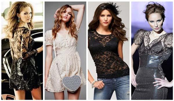modelos renda 3 Renda, um clássico da moda