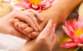 Reflexologia nos pés