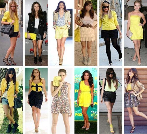 amarelo modelos2 Amarelo: tendência 2010/2011