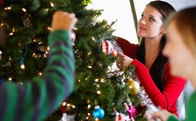 decorar arvore natal simples:Como decorar a casa para o Natal – Dicas de Mulher