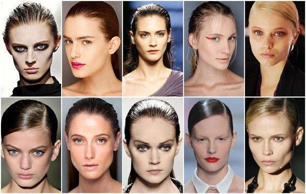 como usar cabelo molhado 2 Cabelo molhado: tendência verão 2011