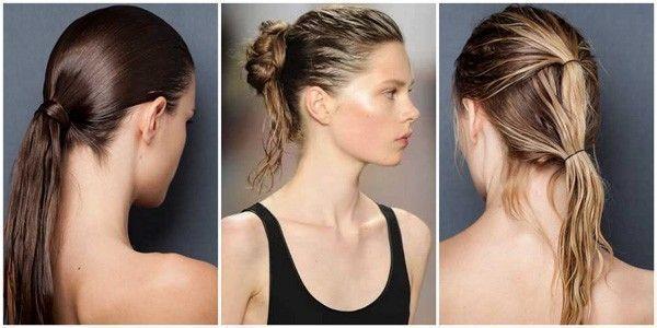 como usar cabelo molhado Cabelo molhado: tendência verão 2011