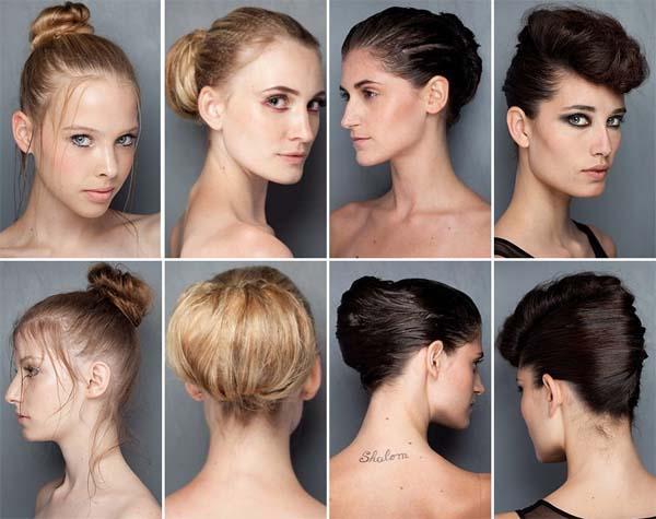 coque penteado inverno 2011 Penteados para o inverno 2011