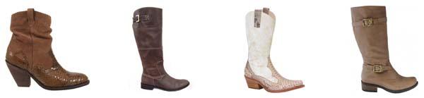 couromoda botas Tendências em sapatos para o inverno 2011