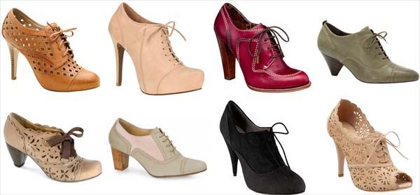 couromoda oxfordcomsalto Tendências em sapatos para o inverno 2011
