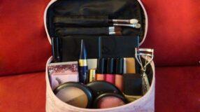 Maquiagem para viagem