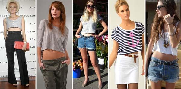 blusa cropped modelos2 Blusa cropped