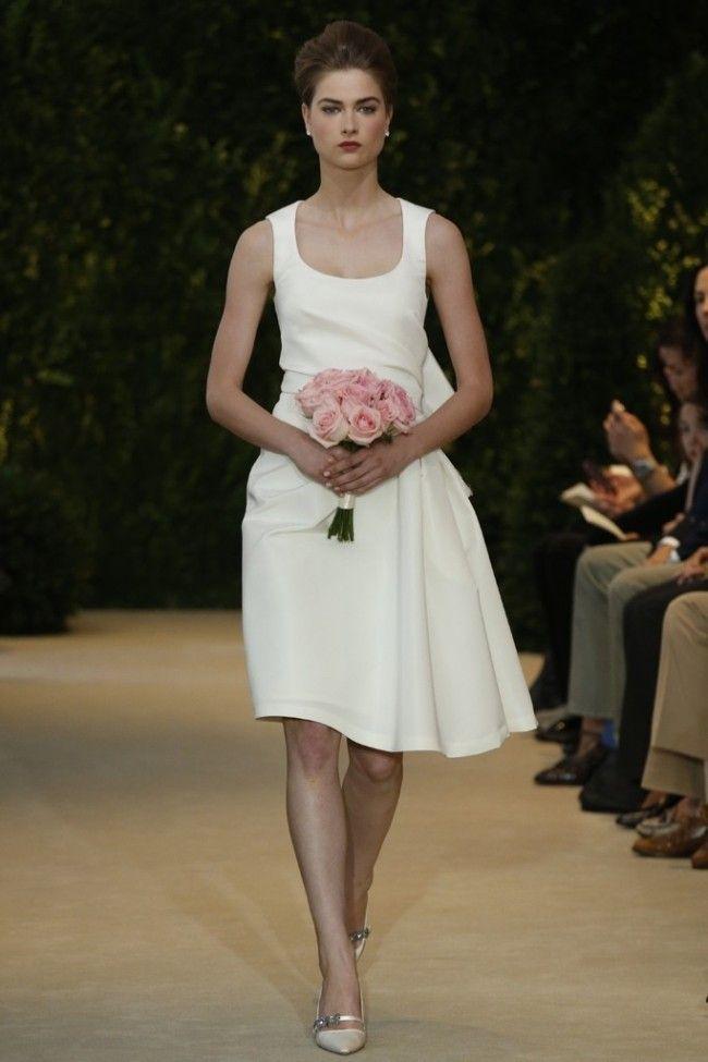 L abito da sposa per il matrimonio civile d5d618cb21f3