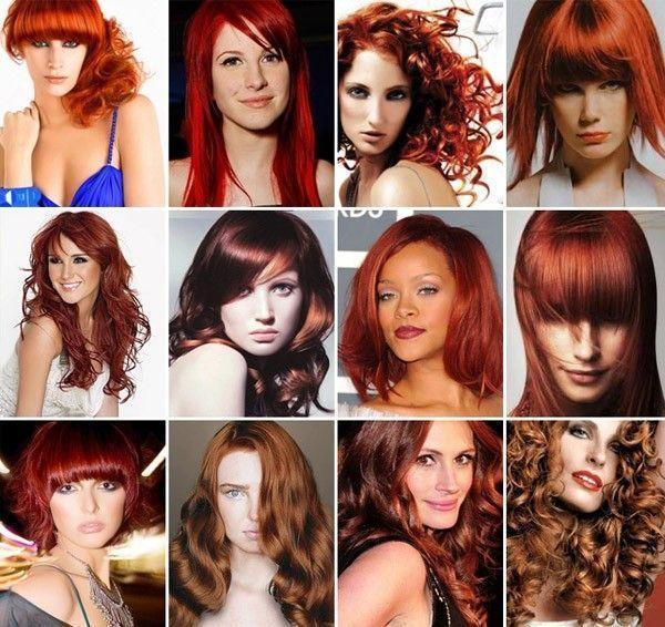 cabelo vermelho cor inverno modelos Cabelo vermelho: a cor do inverno
