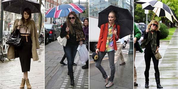 como se vestir em dia de chuva modelo31 Dicas para se vestir em dia chuvoso de verão