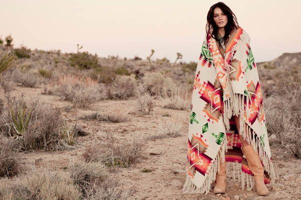 moda navajo Tendência navajo