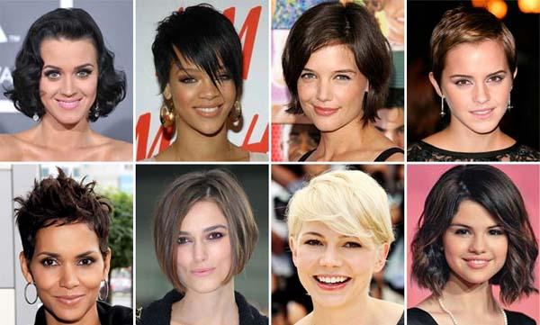 Resultado de imagem para famosas com cabelos curtos