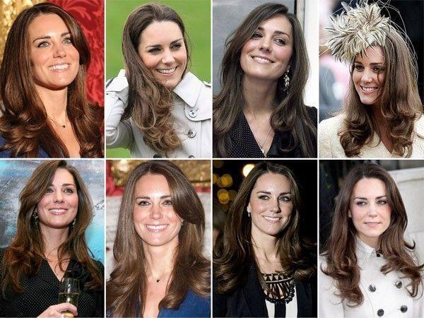 cabelo de Kate Middleton modelos O cabelo de Kate Middleton