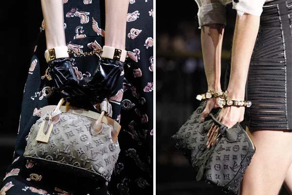 segurar bolsa atras Novas formas de carregar as bolsas