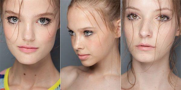 tendência maquiagem inverno cílios marcados Maquiagem para o inverno 2011