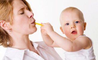 Alimentação da mãe durante a amamentação