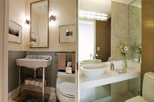 decoracao para ambientes muito pequenos:Dicas para decorar o lavabo – Dicas de Mulher